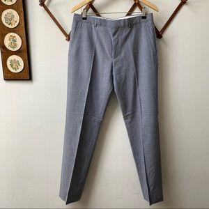 Hugo Boss Virgin Wool Speckled Trousers
